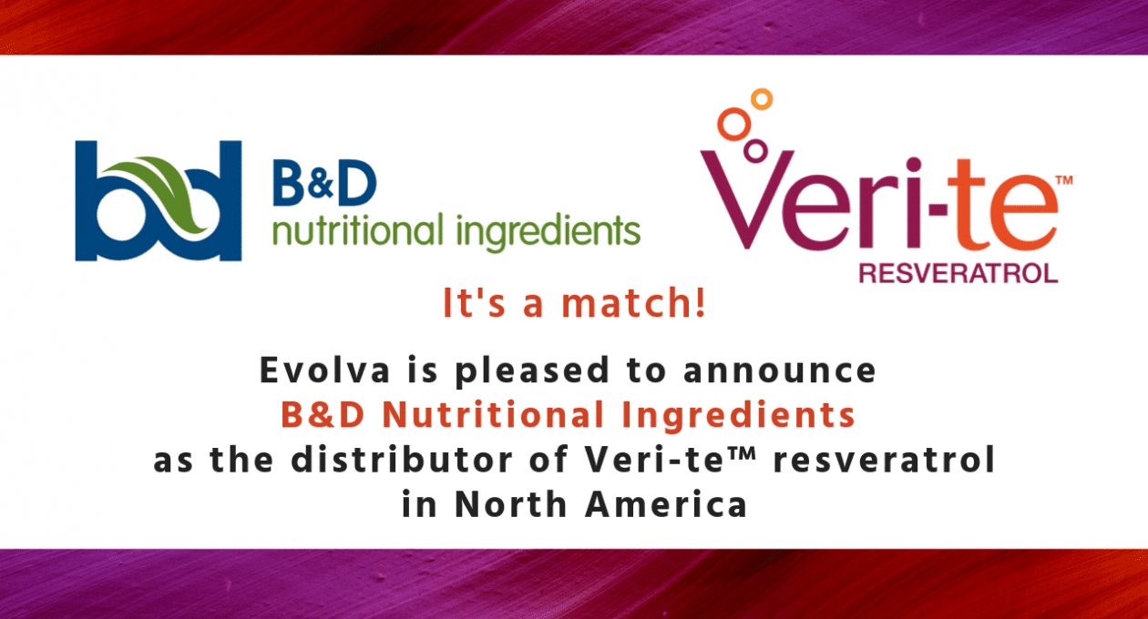 News Release: Evolva Signs North America Distributor Agreement for Veri-te™