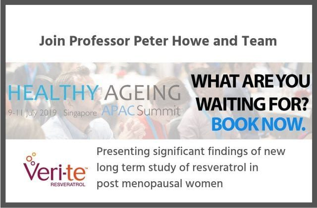 Professor Peter Howe and Team to Present Significant Findings of New Long-Term Study of Resveratrol in Post-Menopausal Women
