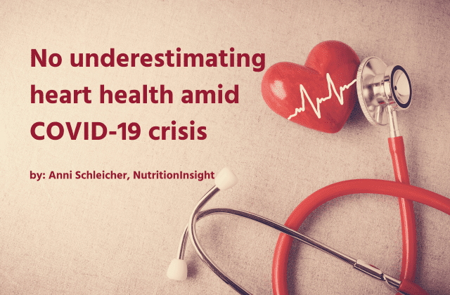 No underestimating heart health amid COVID-19 crisis