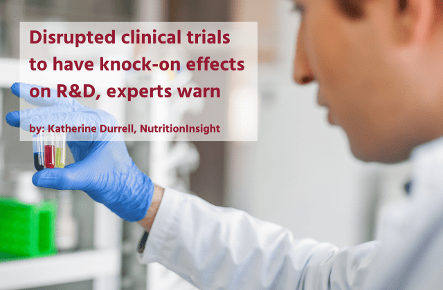 Disrupted clinical trials to have knock-on effects on R&D, experts warn