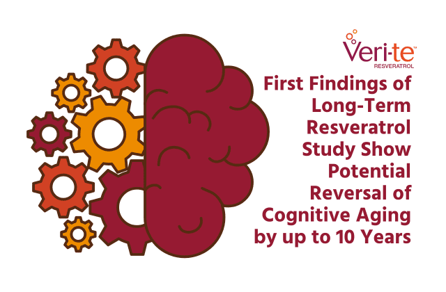 News Release: First Findings of Long-Term Resveratrol Study Show Potential Reversal of Cognitive Aging by up to 10 Years